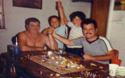 Gaming Together: My Uncle Ken, Cousin Wes, Me, and Dad